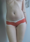 orange lace panties 002 £13